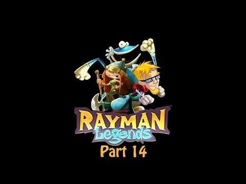 Rayman Legends (Part 14) walkthrough   CREDIT ROLL!!!