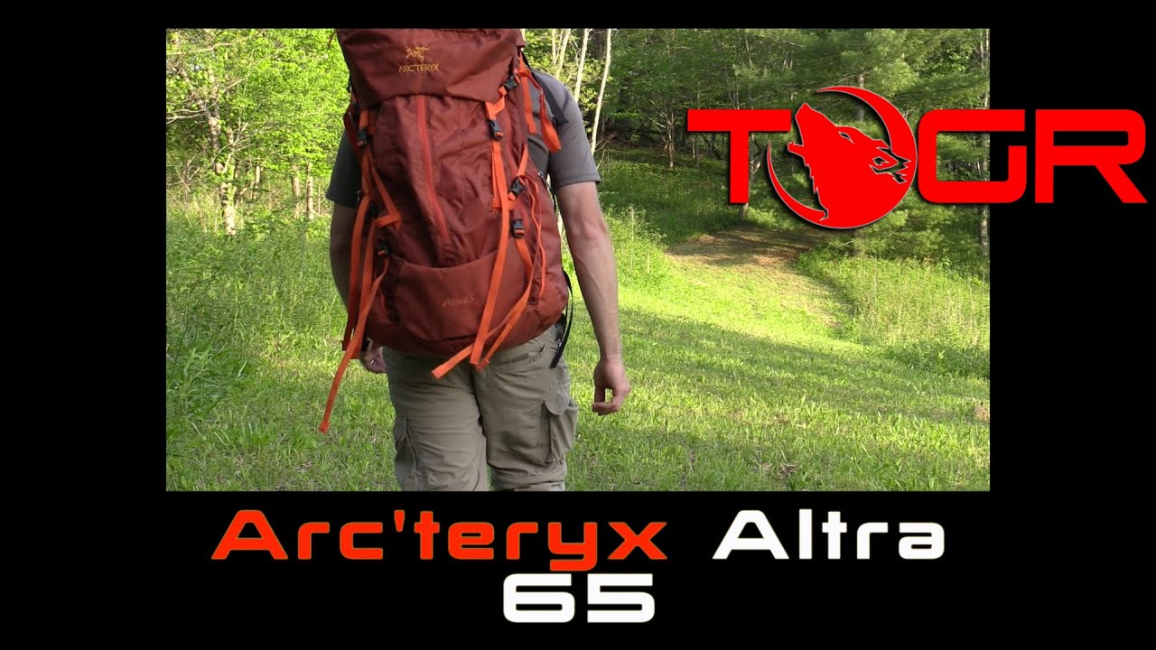 69e68f32ce4 One of the Best! - Arc'teryx Altra 65 Backpack - Preview - YouTube