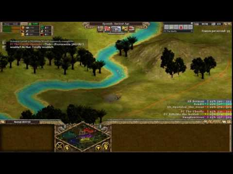 Rise of Nations: Tournament | Group A Vs Group B [Replay Footage]
