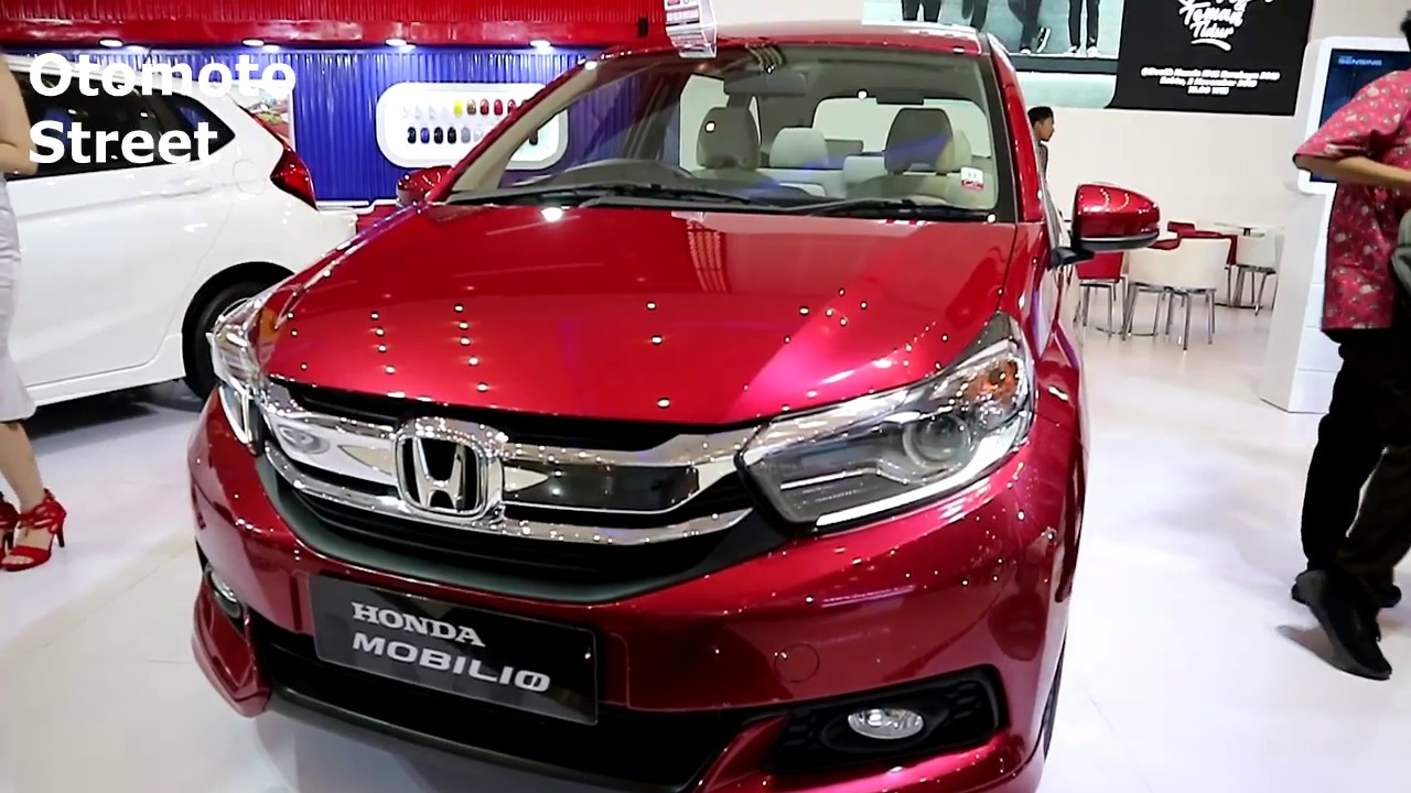 Honda Mobilio E Cvt 2020 Red Metallic Colour Exterior And Interior Youtube