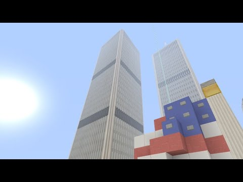 Minecraft: Xbox One | World Trade Center Twin Towers