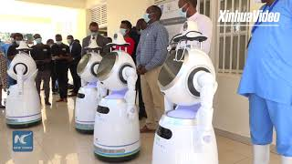 Rwanda to use high tech robots in fight against COVID-19