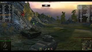 мой первый летсплей в WoT World of Tanks без Ice man'а