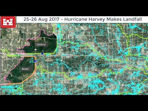 Time Lapse Maps How Harvey Flooded Houston Youtube