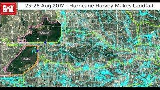 Time Lapse Maps: How Harvey Flooded Houston