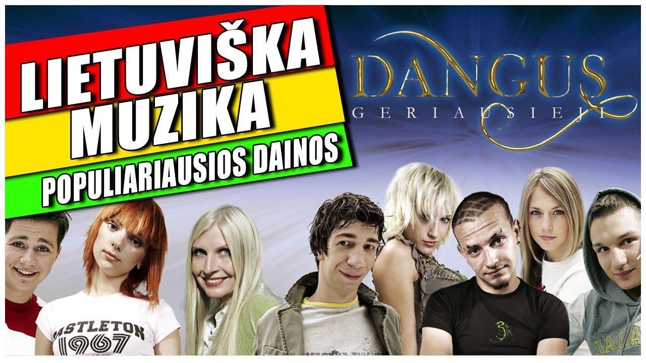 Dangus - Geriausieji. Pilnas Albumas. Geriausia Lietuviška Muzika.