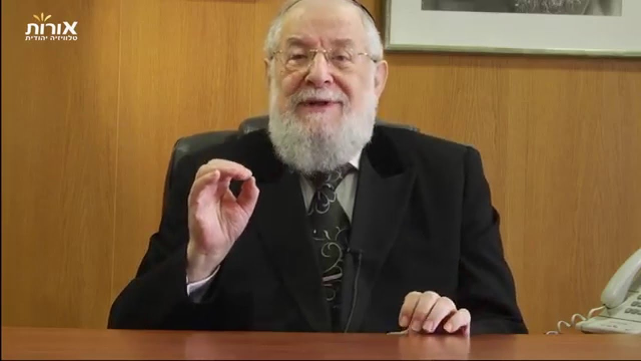Weekly Torah Portion With Rabbi Lau - Parashat Yitro