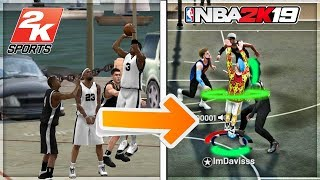 DOES A JUMPSHOT FROM 20 YEARS AGO STILL WORK IN NBA 2k19? worlds oldest jumpshot is still green?
