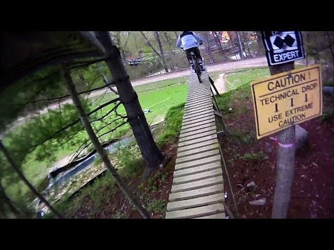 Mountain Creek Bike Park. Vernon, New Jersey.  Opening weekend May 2011.