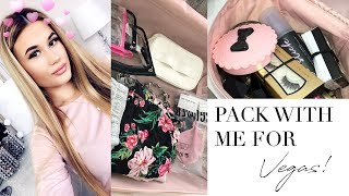 Pack With Me For Vegas & How I