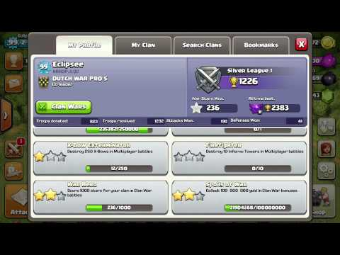 Clash Of Clans : [SPECIAL] MY CLAN & STATS!