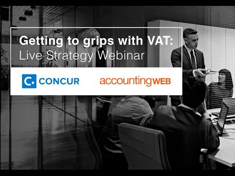 Getting to grips with VAT: Live strategy webinar