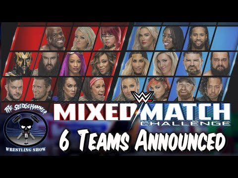 WWE Mixed Match Challenge Teams Announced , Women's Wrestling Legend Passes Away