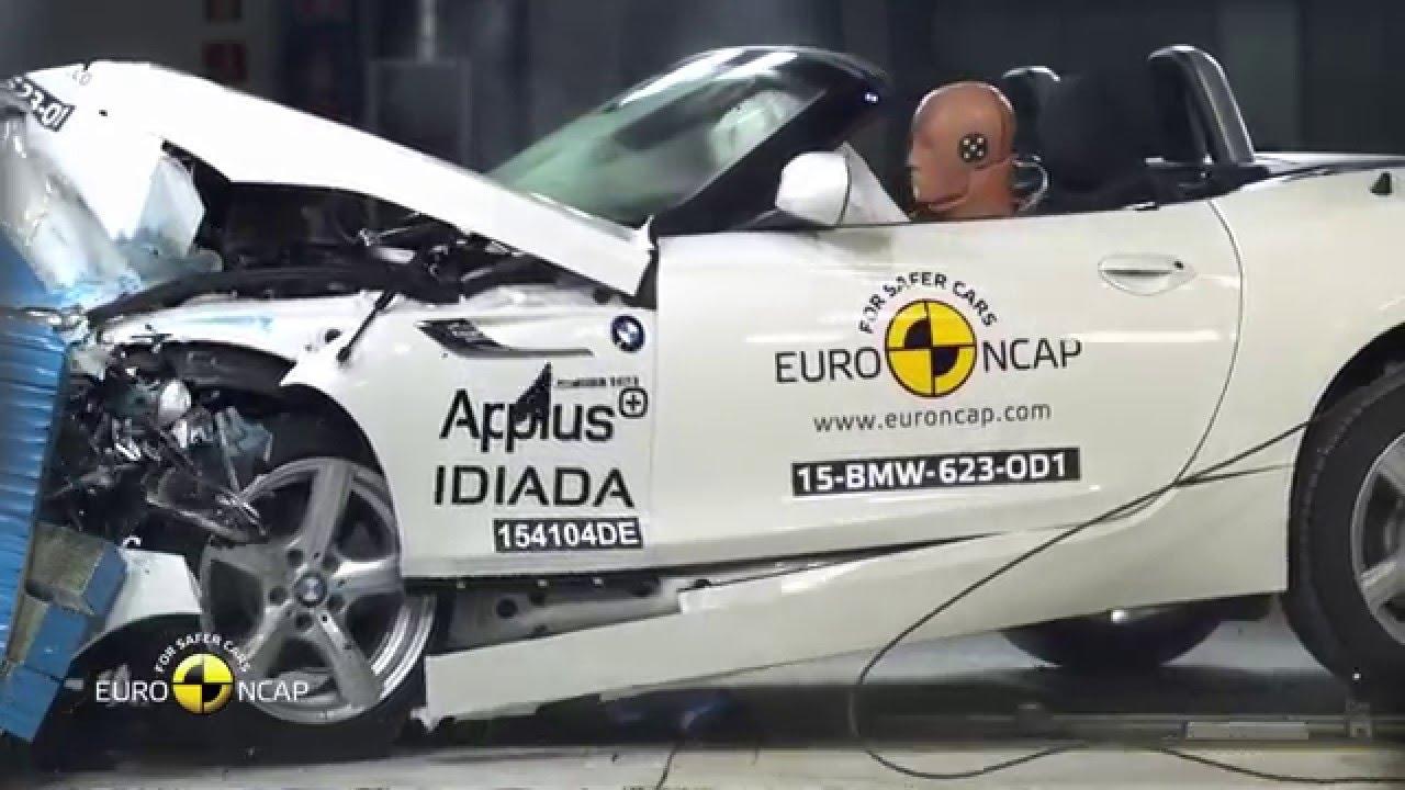 Euro Ncap Crash Test Of Bmw Z4 2015 3 Star Safety