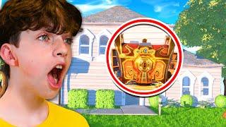 Little Brother vs ONE HOUSE Challenge for 100k VBucks! - Fortnite