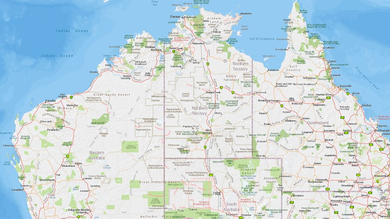 Australia 250k Map.Introducing The Hema Explorer Map Australia Wide Topographic Map
