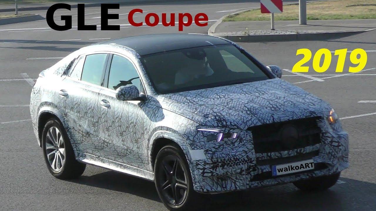 mercedes erlkönig gle coupé 2019 auf der straße gle coupe 2020 on