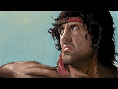 Rambo The Video Game All Cutscenes Cinematics Full Movie 2014 thumbnail