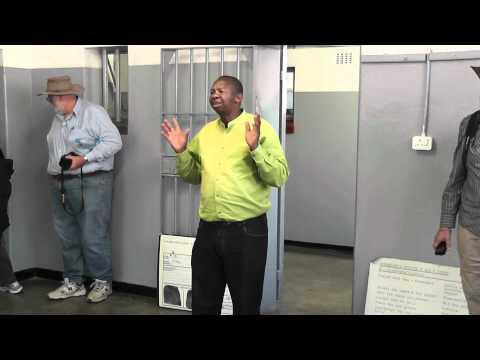 Robben Island tour - Political prisoners inc Nelson Mandella story Part 1