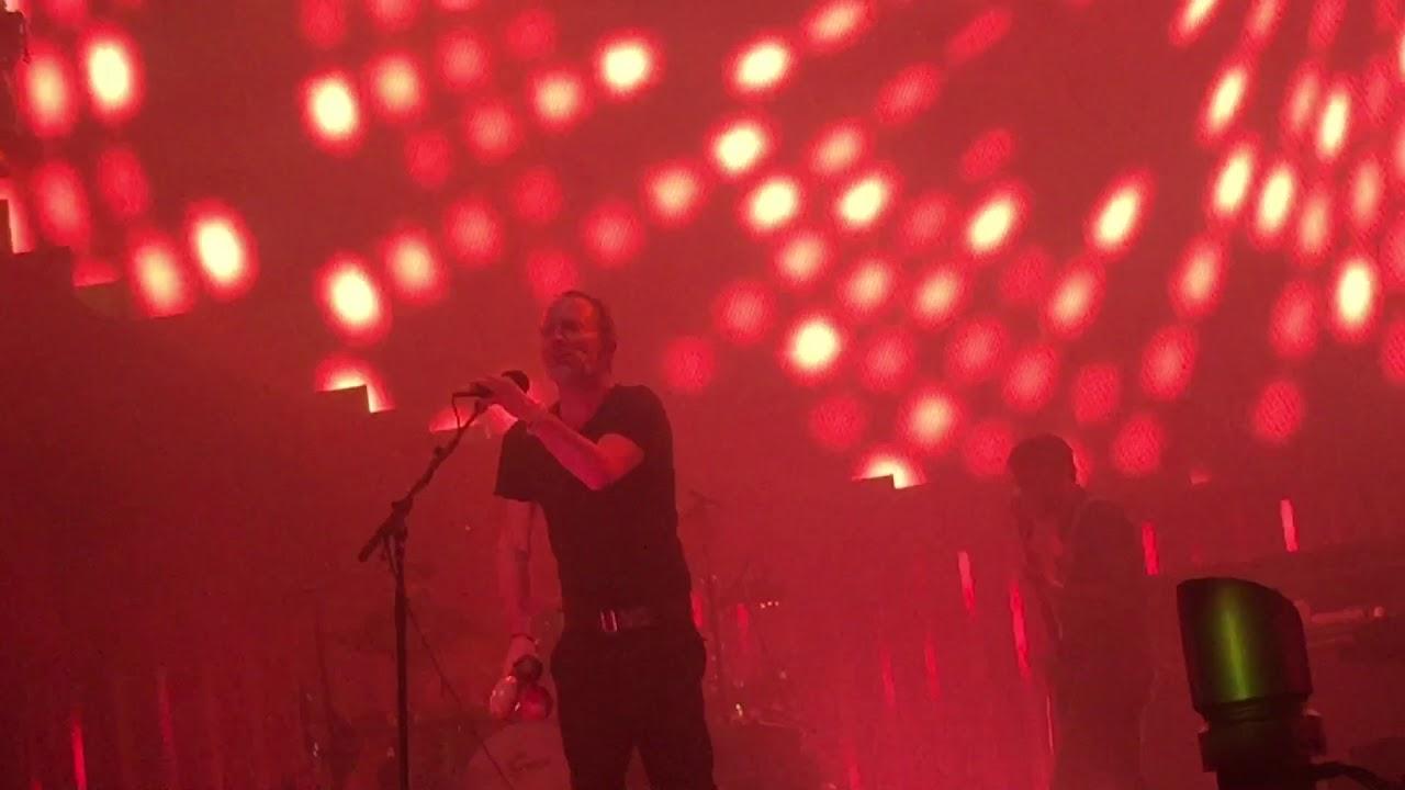 Radiohead Lotus Flower Live At Msg Youtube