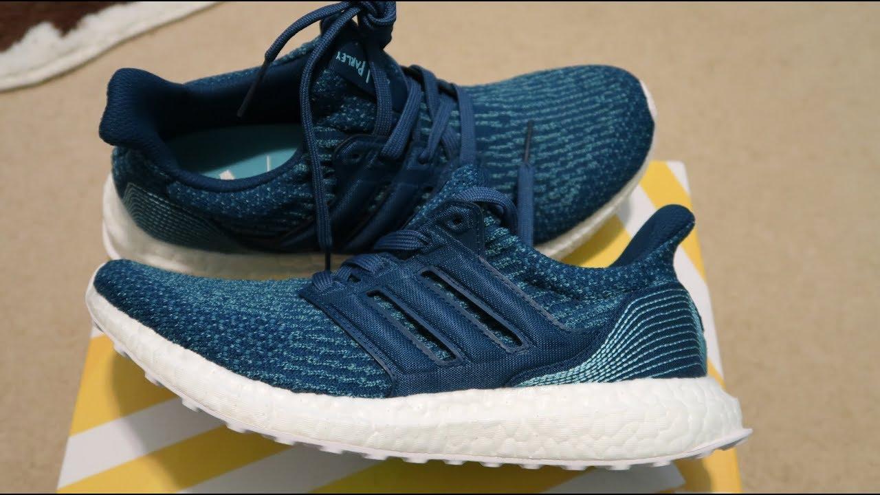Adidas ultra impulso 'poly' la noche Marina zapatilla unboxing en YouTube
