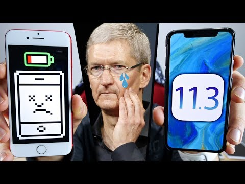 Apple Apologizes For Slowing Down Your iPhone! iOS 11.3 Incoming!