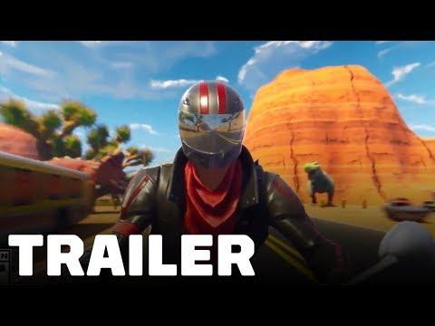 Fortnite Quadcrasher New Vehicle Trailer