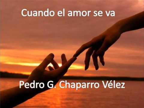 Poema Cuando El Amor Se Va Youtube