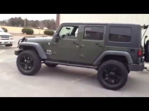 2007 Jeep Wrangler 20 Inch Rock Star 2 Wheels With 35 Inch Tires