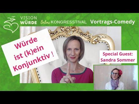 """""""Würde ist kein Konjunktiv!"""" Vortrags-Comedy: Menschenwürde, Selbstliebe"""
