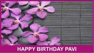 Pavi   Birthday Spa - Happy Birthday