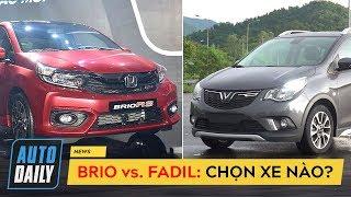 Honda Brio nhập khẩu và VinFast Fadil lắp ráp: Bạn chọn xe nào? |Brio vs. Fadil|