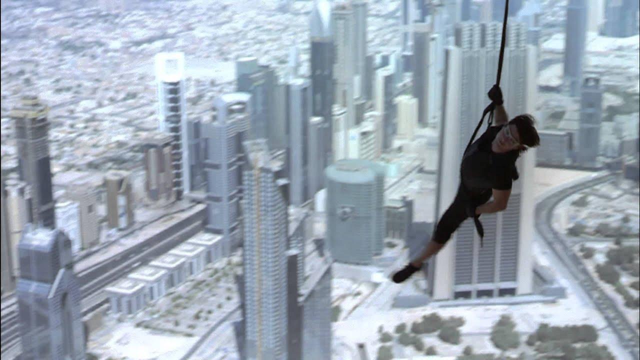 Mission Impossible Ghost Protocol Burj Khalifa Sizzle Reel