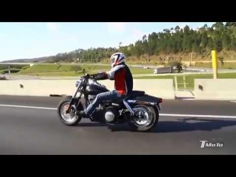 Pistões da Liberdade - Harley_Fat Bob - Revista T Moto edição 02
