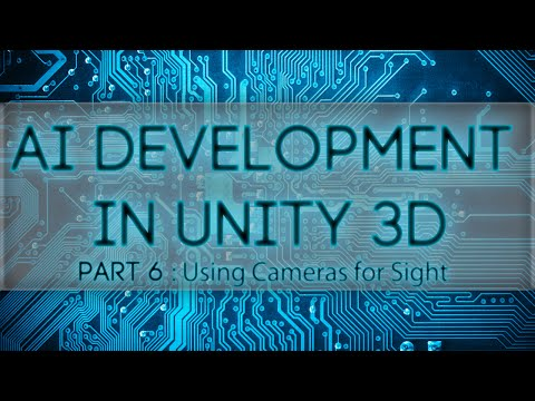 Unity 3D AI: Using Cameras for Enemy Sight
