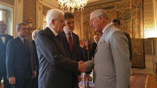Mattarella ha ricevuto il Principe di Galles e la Duchessa di Cornovaglia