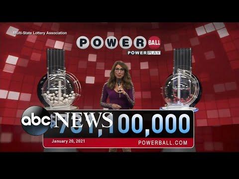 Mystery Powerball winner