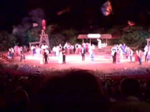 Texas Musical Performance at Palo Duro Canyon