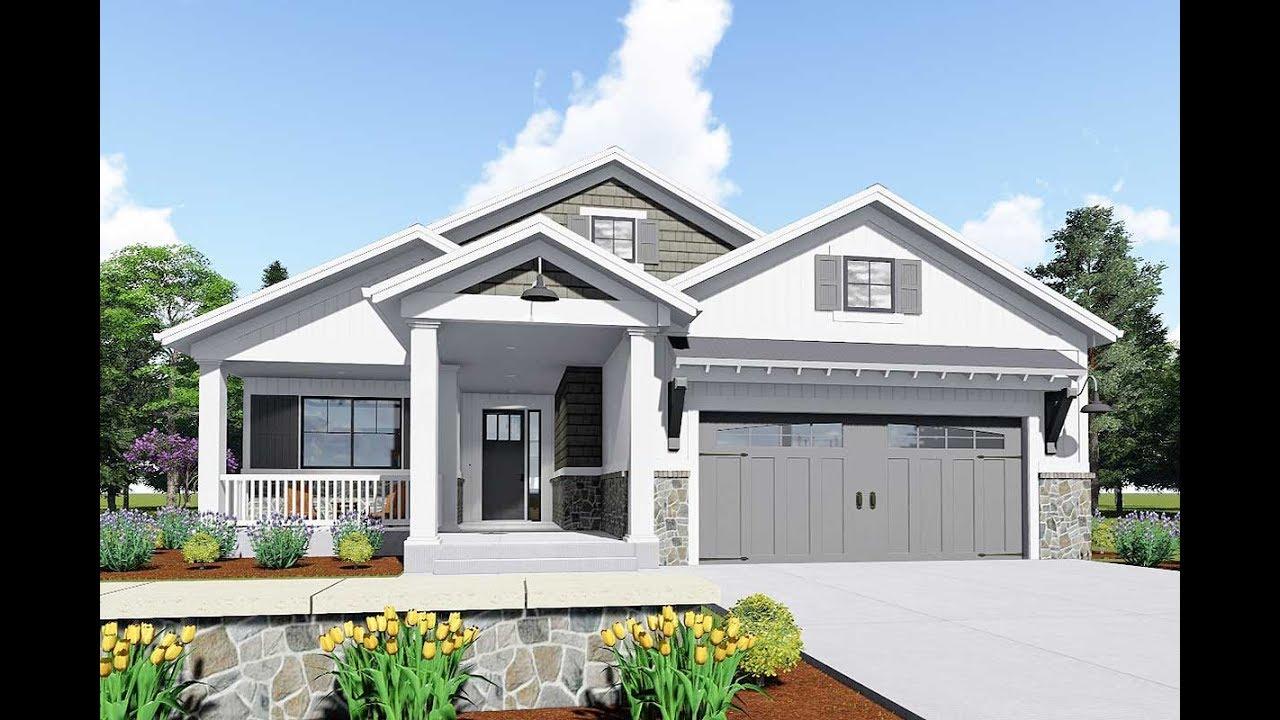 Architectural Designs Modern Farmhouse Plan 64441SC