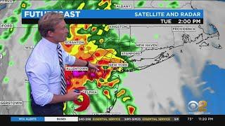 New York Weather: Isaias Barreling Toward NYC