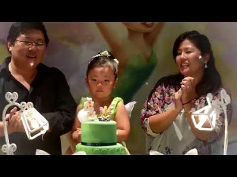 Aniversário Infantil Tinker Bell