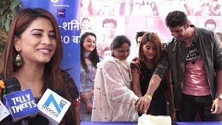 Nimki Mukhiya 500 Episodes Celebration With Bhumika Gurung, Abhishek Sharma