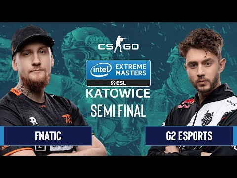 CS:GO - Fnatic Vs. G2 Esports [Inferno] Map 1 - Semifinals - IEM Katowice 2020