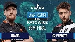CS:GO - Fnatic vs. G2 Esports [Inferno] Map 1 - Semifinals - IEM Katowice 2020