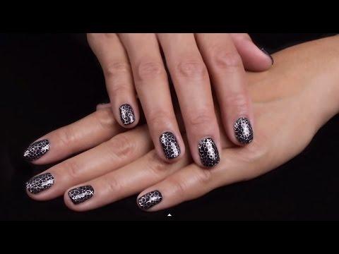 Metallic Filigree Nagelsticker Aanbrengen Op Gellak Metoe Nails Youtube