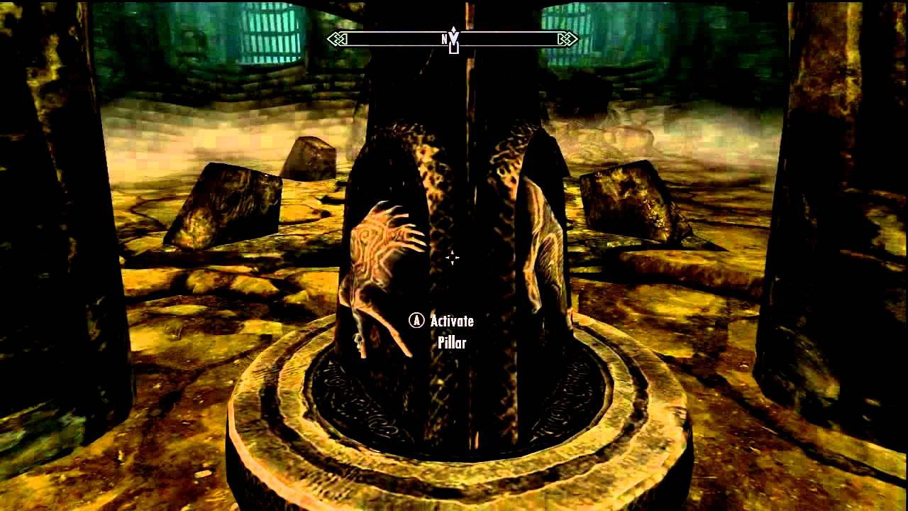 Skyrim Gameplay The World Eaters Eyrie Quest Puzzle 1 Solved