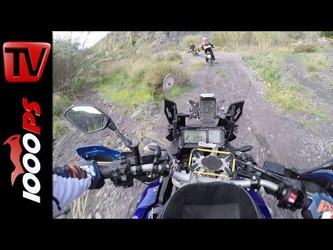 Yamaha Super Tenere Enduro Tour Almeria 2016 | Onboard, Sound