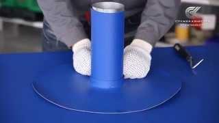 видео Примыкание металлочерепицы к дымоходу: герметизация прохода трубы и вентиляции