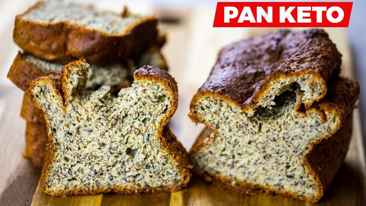 Pan keto de harina de coco en 4 minutos fácil, económico y sin gluten 👩🍳🍞 - bajo en carbohidratos