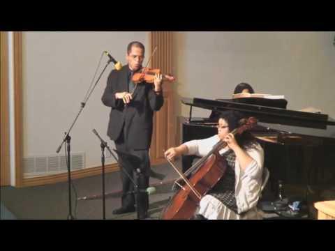 Christian Hymns: My Peace I Give Unto You (Violin, Cello & Piano)